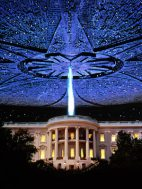 An alien attack on the White House brought people together in the movie Independence Day
